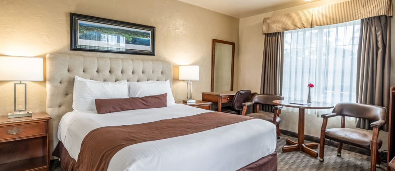 Brand New Remodeled Monterey Hotel Rooms