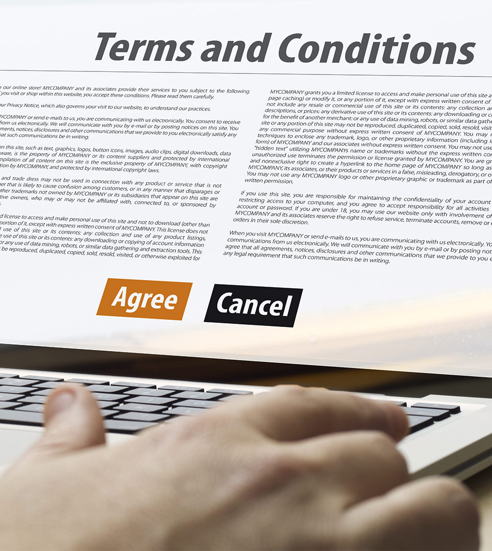 Website Terms & Conditions For The Lone Oak Lodge